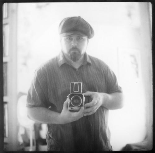 Hasselblad Self Portrait (Polaroid)
