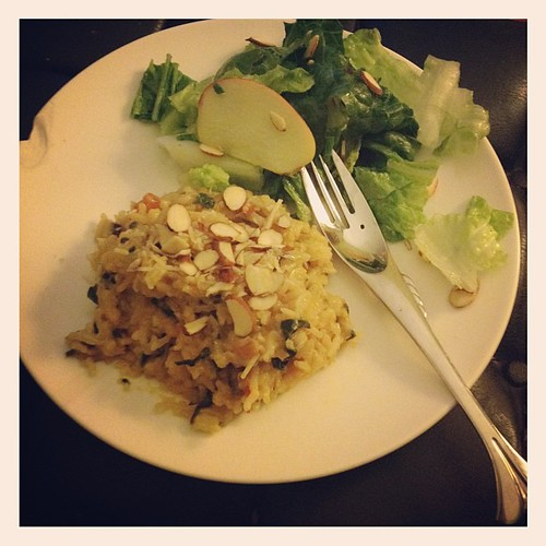 Hell yeah, risotto dinner! #obhfood #soproud