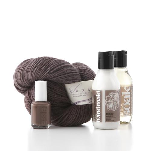 Lorna's Laces yarn Soak handmaid hand cream essie nailvarnish