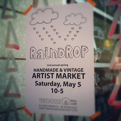 Raindrop market.