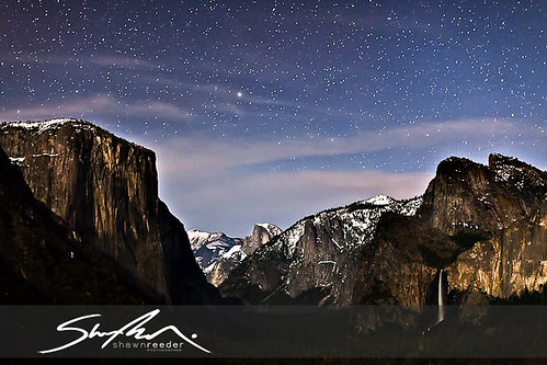 Yosemite Tunnel View Celestial