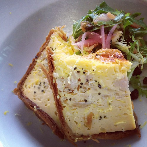 Whitefish Quiche @ Jam in Logan Square