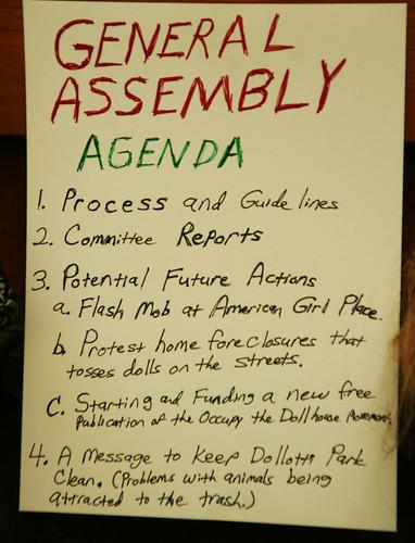 5b-General Assembly Agenda