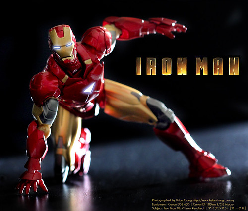 Iron Man Mk VI from Sci-Fi Revoltech | アイアンマン [マーク6]