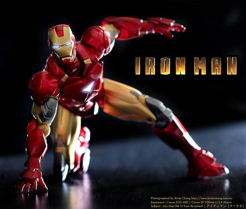Iron Man Mk VI from Sci-Fi Revoltech | アイアンマン [マーク6]