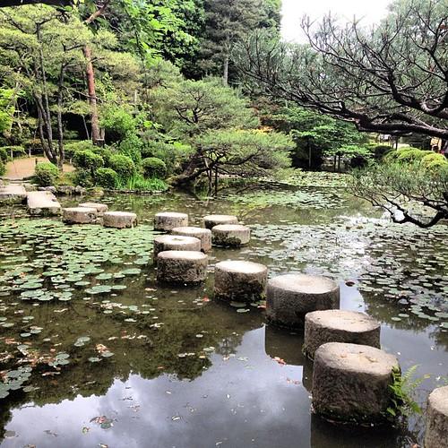 Las piedras que saltaba Scarlett Johansson en Lost in Transation (Heian) #kyoto #japan #japon