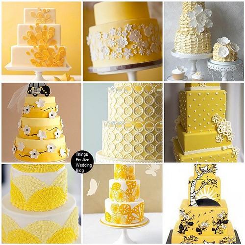 Yellow Wedding Cakes - Sunny & Sublime Things Festive ...