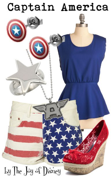 Inspired by: Captain America (Avengers)