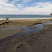 Black beach in  Puerto Viejo, Costa Rica 07MAY12
