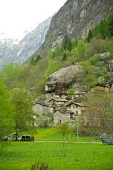 Stone houses