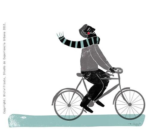 bicivilízate 1/3 by Maca López Godoy