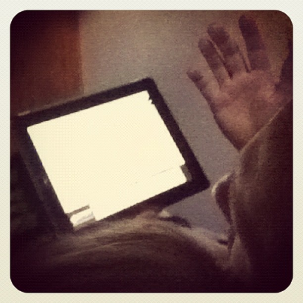 Early Sunday morning... Learning about the periodic table #unschooling #ipad