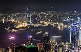 Hongkong Night View from the Peak 4th
