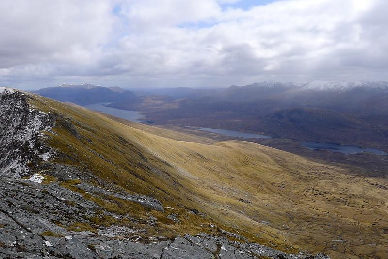 Towards Loch Monar and the Mullardoch Hills