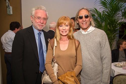 Wolf Blitzer & Marg Helgenberger and Alan Finklestein