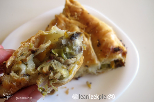 lean leek pie