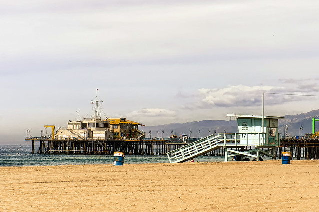 los angeles :: santa monica pier