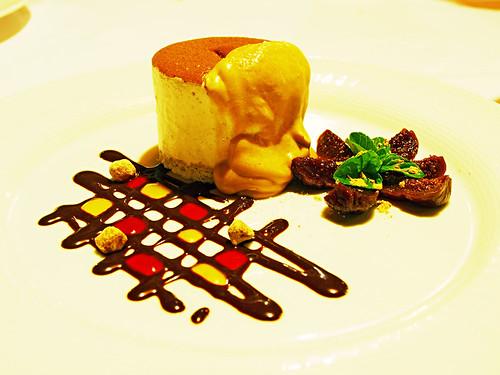 Dessert at at La Parrilla Restaurant, Hotel Botanico, Puerto de la Cruz