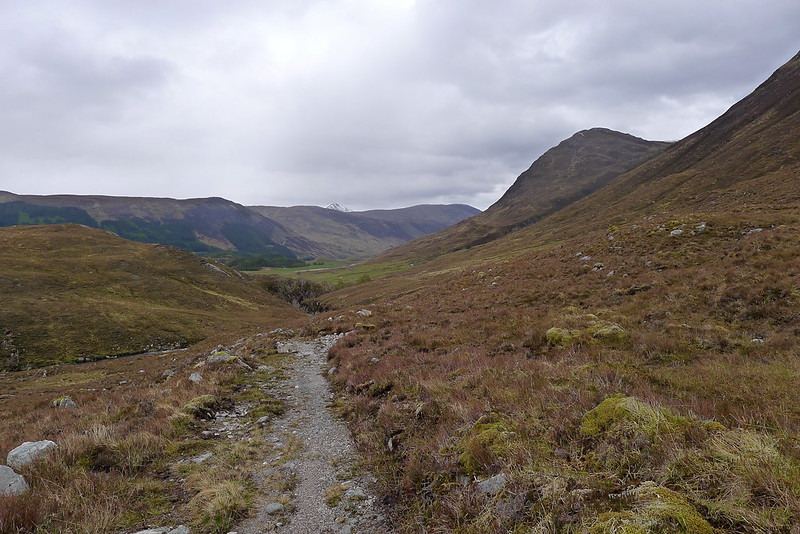 Descending towards Strathconon
