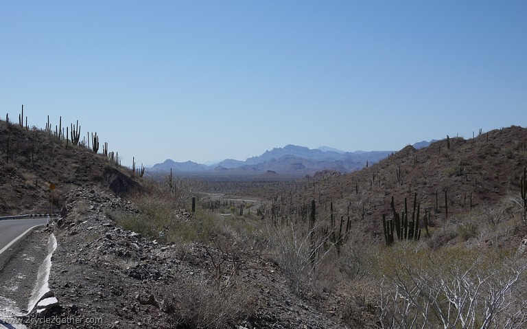 Hwy 1 headed toward Loreto