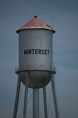 water tower, silo,