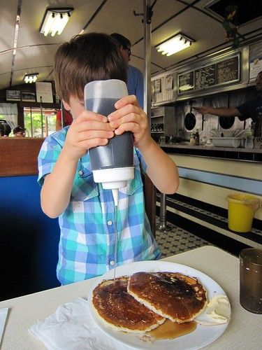 Retro Roadboy and Pancakes at Wilson's Diner