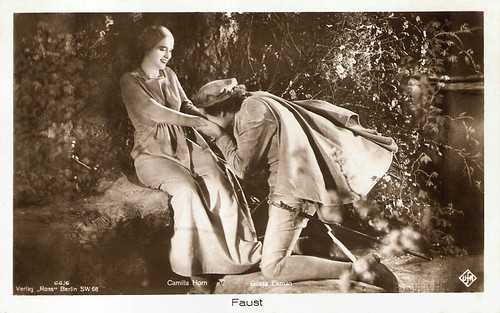 Gösta Ekman and Camilla Horn in Faust (1926)