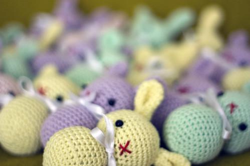 amigurumi bunnies