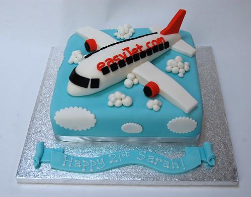 Astonishing Easyjet Aeroplane Cake Beautiful Birthday Cakes Funny Birthday Cards Online Alyptdamsfinfo