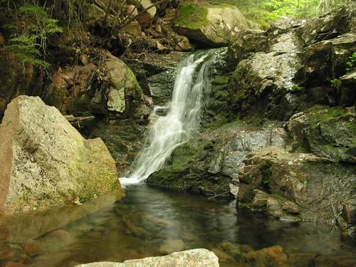Gorge Path waterfall