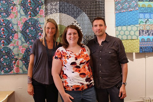 Amy & David Butler visit Sewn Studio