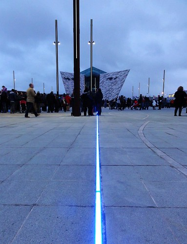 Titanic Belfast Light