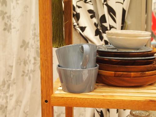 フランフラン 木製シェルフ