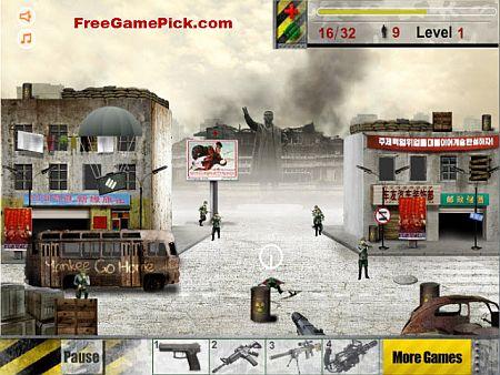 juego de invasion y tiros