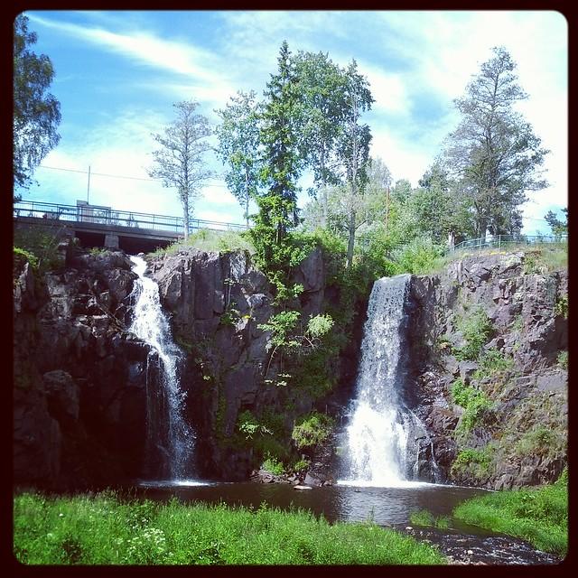 Waterfall x 2
