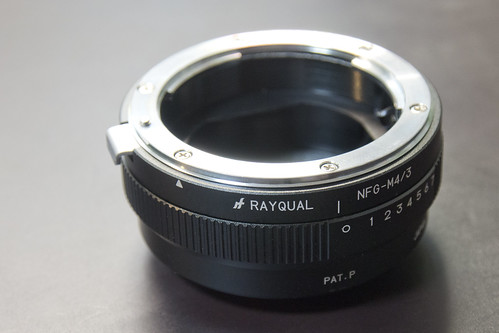 RAYQUAL M4/3 Mount Adapter #1