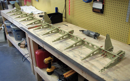 Right Flap Final Assembly Begins