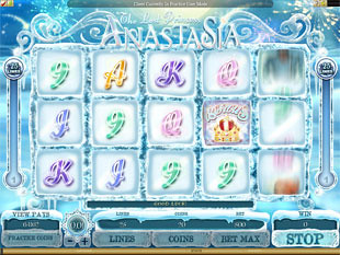The Lost Princess Anastasia Slot Machine