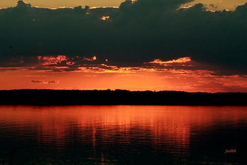 sunset sky nature wildwood sunsetlake