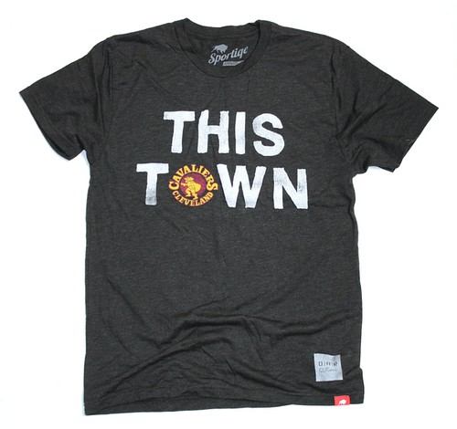 Cleveland Cavs This Town Tee By Sportiqe