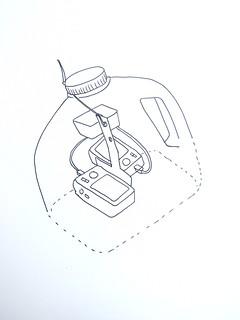 Dual camera juice bottle rig