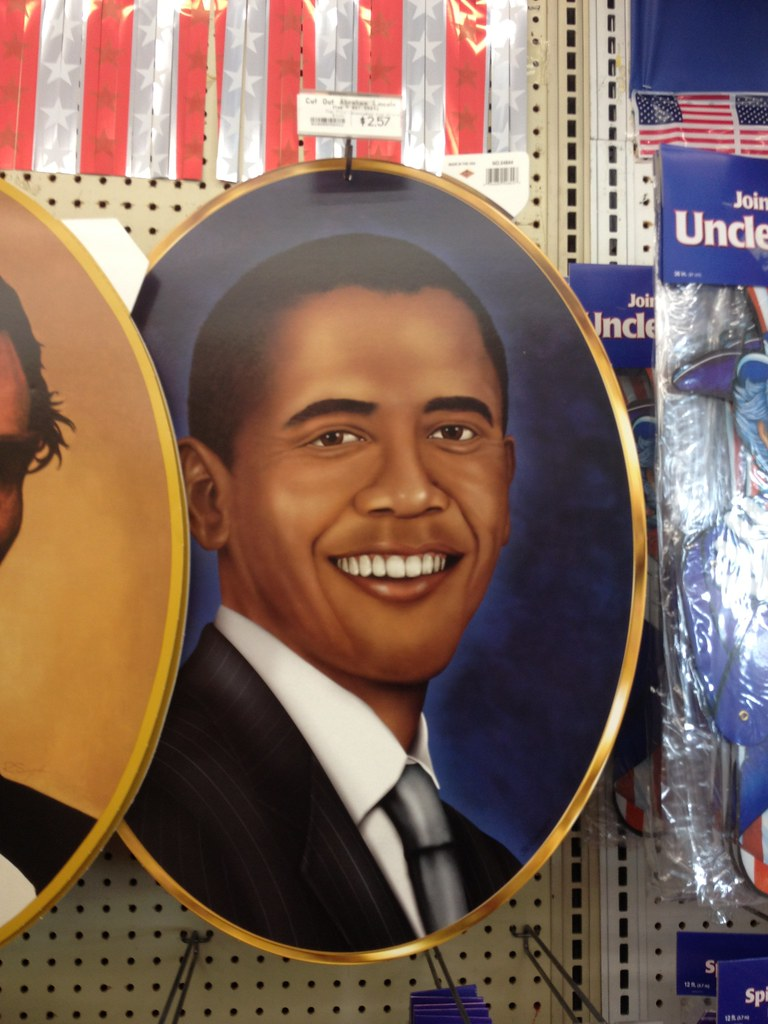 Fourth of July & Summer Products: Barack Obama Paper Wall Hanging