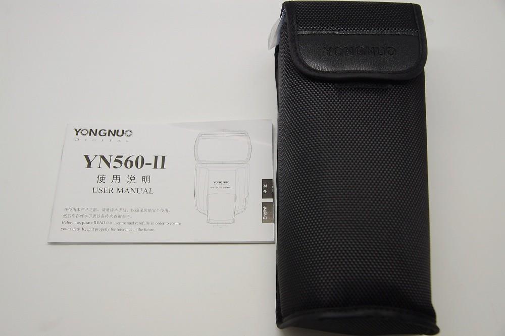 [開箱]永諾YN-560II 開箱