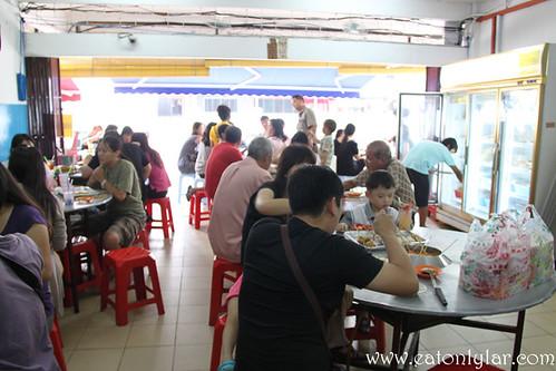Interior, Restoran Ban Lee Siang