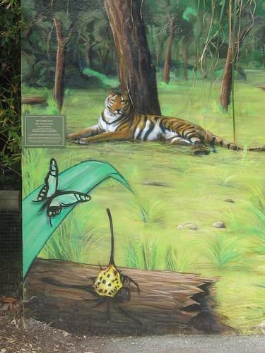 Wildlife Wall Mural