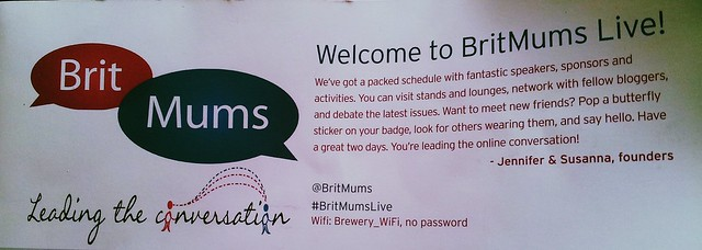 BritMums Live Agenda Header