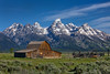 "Tetons and the John Moulton Barn by IronRodArt - Royce Bair (""Star Shooter"")"