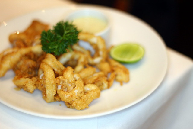 Greyhound Cafe's Calamari Fritti
