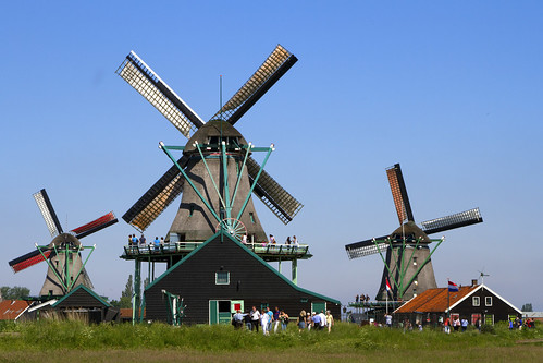 trip travel sky panorama holland windmill architecture canon landscape clear zaanseschans canonef24105mmf4lisusm canoneos7d antoniovaccarini