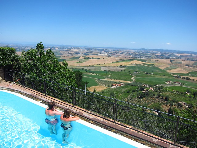 Pool With an Incredible View in Montalcino